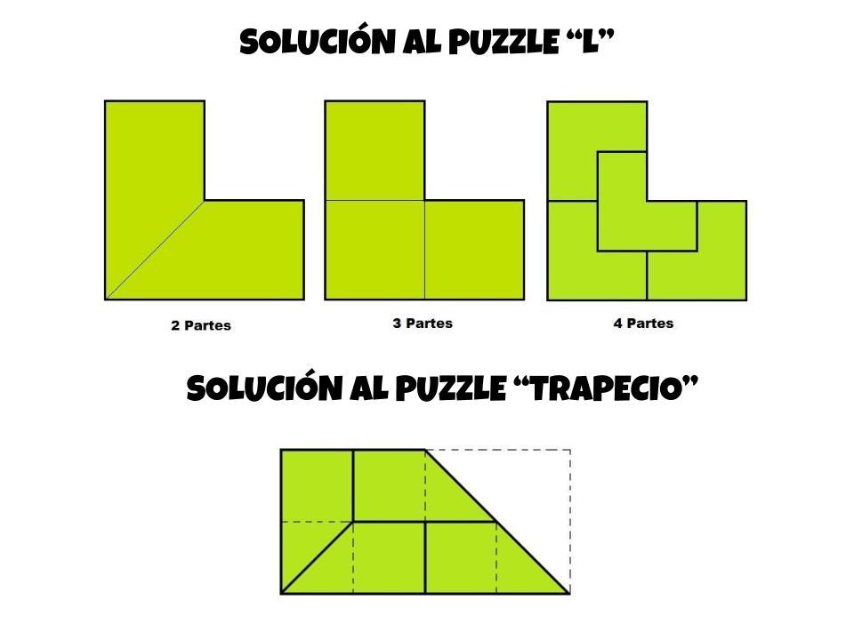 Solución puzzle L y trapecio