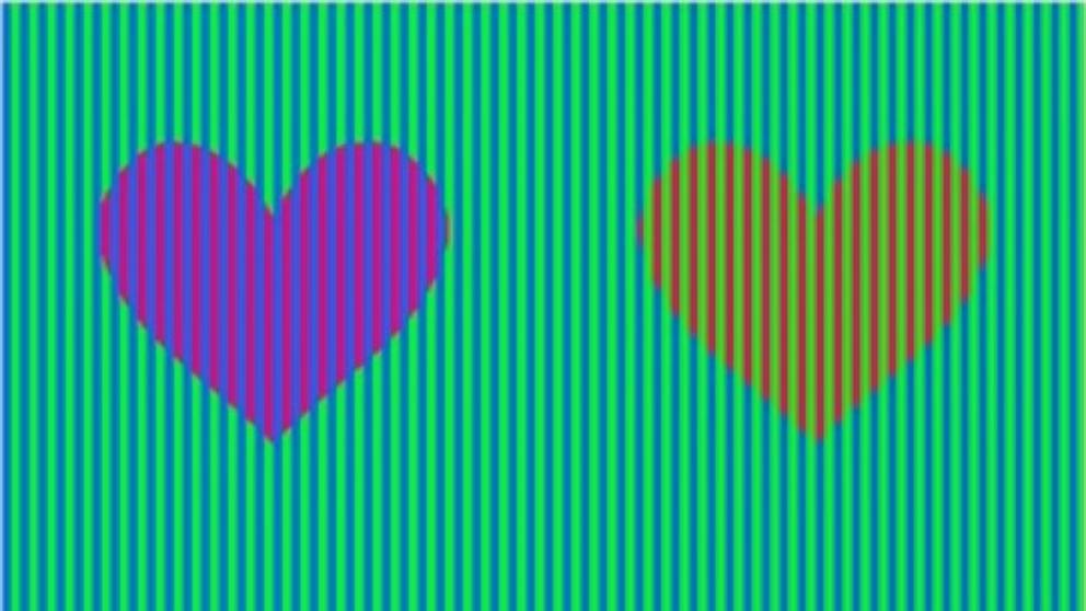 de que color son los corazones