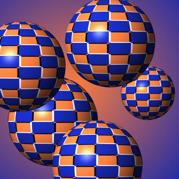 El movimiento de las esferas