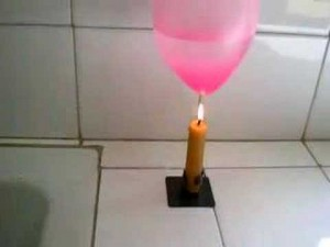 Un globo que no estalla